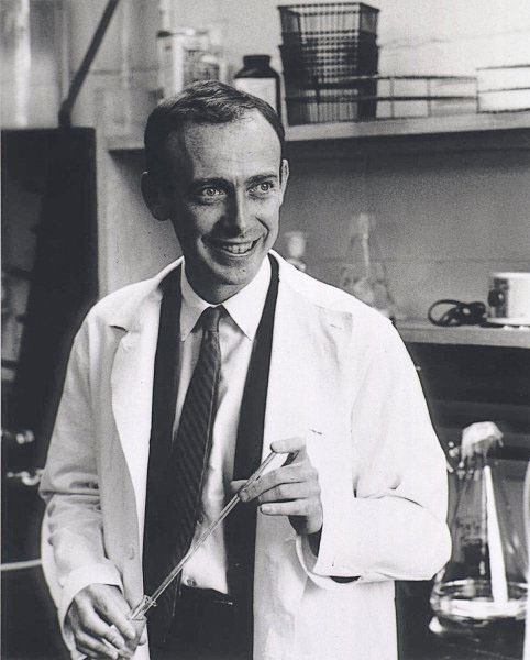 Dr. James Watson, Nobel Prize winner and heretic.
